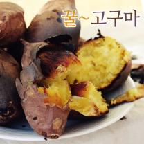 신선한 전라도 꿀고구마 3kg긴특/긴상(긴사이즈)