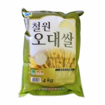 철원미곡 철원 오대쌀 4kg