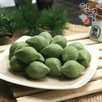 [떡궁名品] 자연이 준 선물! 영양가득 모시송편 25gx40개 (1kg /小)