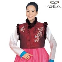 고빅스 성인 여자 털조끼(누비) GKHS 318