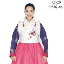 고빅스 성인 여자 털조끼(누비) GKHS 323