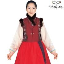 고빅스 성인 여자 털조끼(누비) GKHS 330