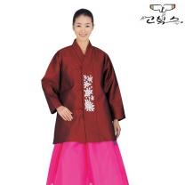 고빅스 성인 여자두루마기 한복(누비) GKHS 366