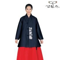 고빅스 성인 여자두루마기 한복(누비) GKHS 367