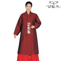고빅스 성인 여자두루마기 한복(누비) GKHS 368