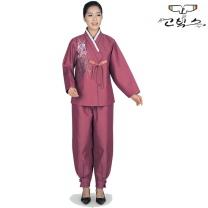 고빅스 성인 여자 생활한복(누비) GKHS 370