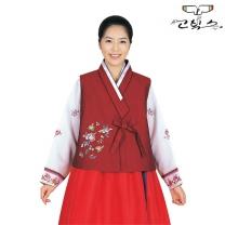 고빅스 성인 여자 한복 조끼(누비) GKHS 377