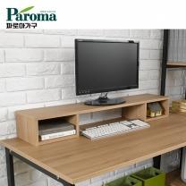 [파로마] 유코스 카카오 사각 tv 키보드 컴퓨터 책상 lcd 모니터 받침대 선반