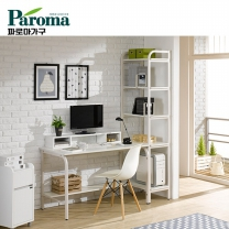 [파로마] 유코스 카카오 H형 5단 1600 학생 컴퓨터 디자인 입식 철재 책상