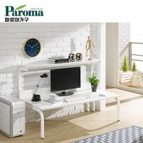 [파로마] 유코스 카카오 1500 학생 컴퓨터 디자인 사무용 좌식 선반 철재 책상