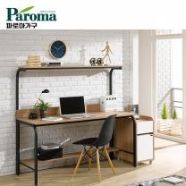[파로마] 유코스 카카오 1500 학생 컴퓨터 디자인 사무용 입식 선반 철재 책상