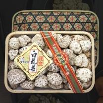 [참마을]흑화고&표고버섯채 혼합 선물세트 2호 / 흑화고 250g + 표고버섯채 250g
