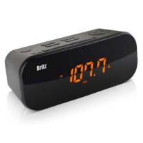 브리츠 시계라디오 BZ-M107 (블랙) [LCD 디지털 시계 / 듀얼 알람기능 / FM 라디오 수신]