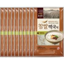 [CJ직배송] 참쌀떡국떡 1kg X 10개