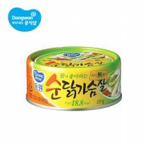 [동원] 순 닭가슴살 135gx10캔