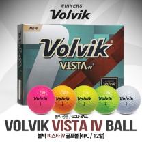 볼빅 VISTA iV(비스타 iv) 골프공 [4피스/12알]