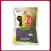 [아우내농협/산지직송] 2017년 국산 찰흑미 1kg
