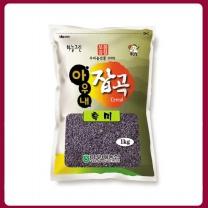 [아우내농협/산지직송] 2017년 국산 흑미 1kg