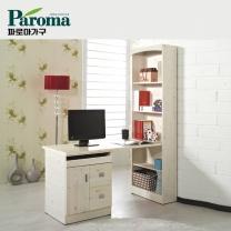 [파로마]유코스 시그널 지펠 서재 컴퓨터 독서실 h형 1200 책상 세트