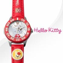 헬로키티(HELLOKITTY)여성시계(HK025-D/가죽밴드)