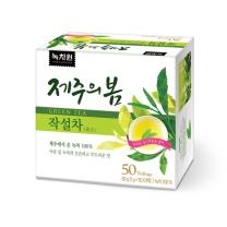 [녹차원]제주의봄작설차 50티백(고급녹차)