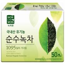 [녹차원]유기농순수녹차 50티백