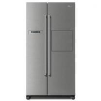 [하이마트] 양문형냉장고 FR-S722PRESB [718L / 메탈 실버, 홈바]