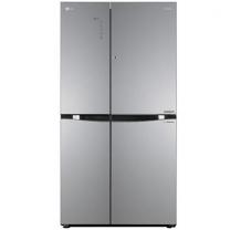 [하이마트] 매직스페이스 양문형냉장고 S825TS35.AKOR [825L/메탈릭샤인/평면글라스 ]