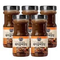 [CJ직배송] 백설 돼지갈비양념840g X5개