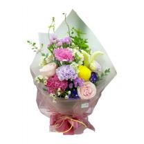 핑크미라클 꽃다발