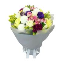 하트플루터 꽃다발