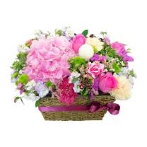 핑크프린세스 꽃바구니