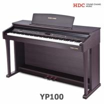 영창 디지털피아노 YP100/로즈우드/해머건반
