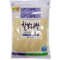 [농협양곡/산지직송] 2018년 찰보리 1kg