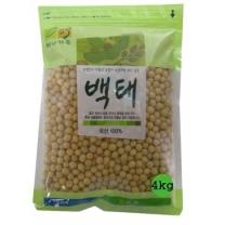 [농협양곡/산지직송] 2018년 백태(콩) 4kg