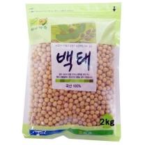 [농협양곡/산지직송] 2018년 백태(콩) 2kg