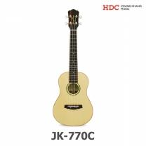 영창 콘서트형 우쿨렐레 JK-770C (JK770C/풀옵션구성/올솔리드모델)