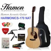 하몬 통기타 Harmonics-170 NAT(하모닉스/탑백솔리드/중급자용)