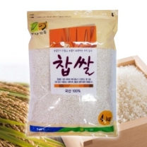 [농협양곡/산지직송] 2018년 찹쌀 4kg