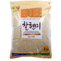 [농협양곡/산지직송] 2017년 찰현미(찹쌀현미) 4kg