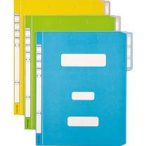 컬러정부화일(10개팩/연두/OfficeDEPOT)