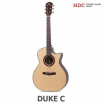 영창 피닉스 어쿠스틱기타 DUKE-C (탑솔리드/GA바디)