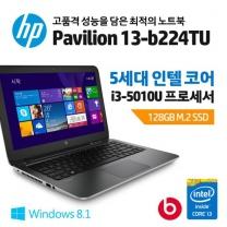 [하이마트] 노트북 HP-13-B224TU[인텔 5세대 Core i3 5010U/4GB/128GB SSD]