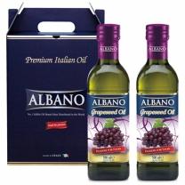 [알바노]이태리 포도씨유 2종 500mlx2 선물포장(포도2)