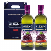 [알바노]이태리 포도씨유 2종 1000mlx2 선물포장(포도2)
