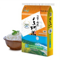 [고성군농협/산지직송] 2017년 고성속초오대미 쌀 20kg(품종: 오대)