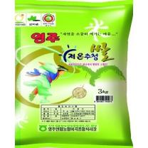 [안정농협/산지직송] 2018년 영주 저온 추청쌀 3kg
