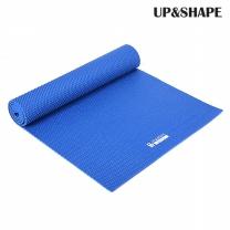 UP&SHAPE 업앤쉐이프 PVC 6mm 요가매트 포인트 텍스쳐(블루)