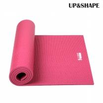 UP&SHAPE 업앤쉐이프 PVC 10mm 요가매트(버건디)