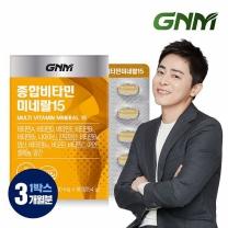 GNM자연의품격 종합비타민미네랄15 1박스 (3개월분)